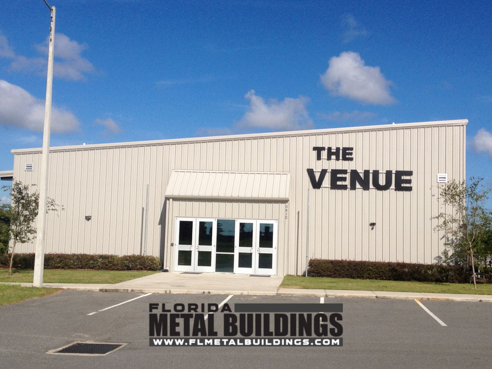 Metal Building For Church Of The Springs Ocala Fl