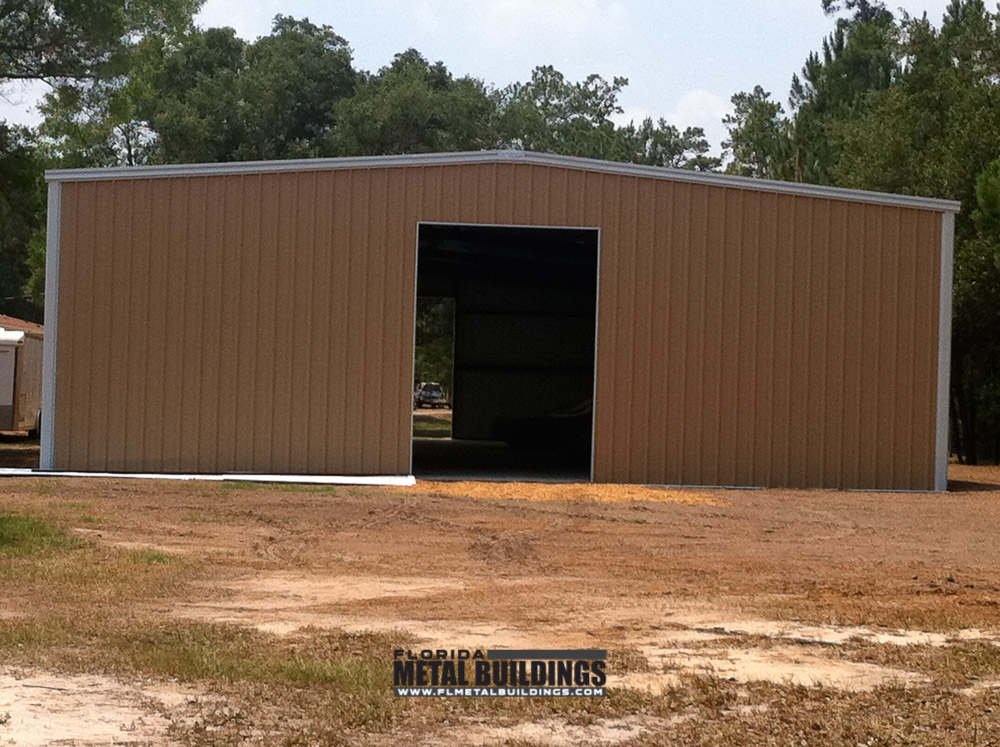 Portable Sheds Florida : Metal storage building in anthony fl florida