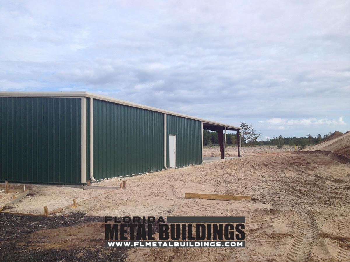 Fwc Shooting Range Metal Building In Pensacola Fl
