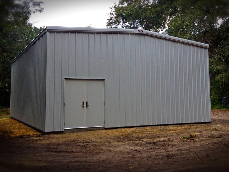 buildings metal hurricane steel kits building garage
