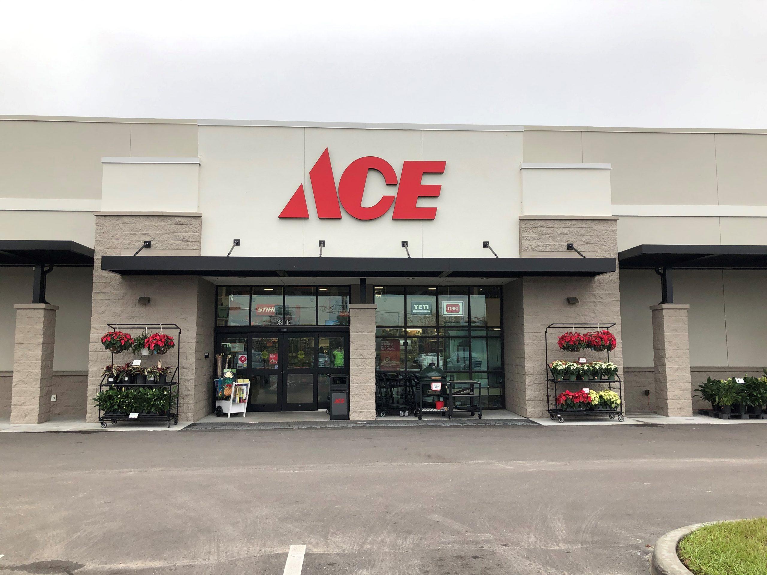 Ace Hardware Building In Jacksonville Fl Florida Metal Building Services Llc